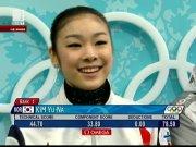 Ким Ю-На поведе след кратката програма във фигурното пързаляне