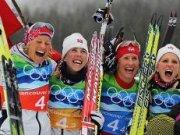Брилянтна Марит Бьорген носи пореден златен медал на Норвегия