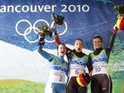 Татяна Хюфнер спечели олимпийска титла за Германия в спускането с едноместна шейна