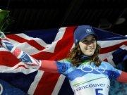 Ейми Уилямс спечели златото в скелетона за жени и първи медал за Великобритания във Ванкувър