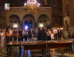 ЛИДЕР и Новото време осветиха 265 икони на апостолите Петър и Павел за общините в страната